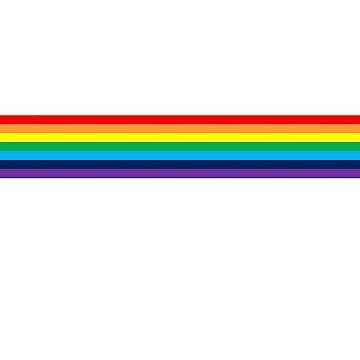 Straight rainbow  by namwa10