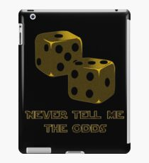 Star Wars - Han Solo Dice iPad Case/Skin