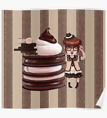 Chocolate Nerd Poster