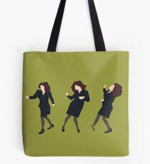 Elaine Dancing (original green) Tote Bag