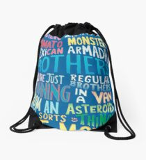RICK MORTHY Drawstring Bag