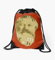 Brahms 4 (Red) Drawstring Bag