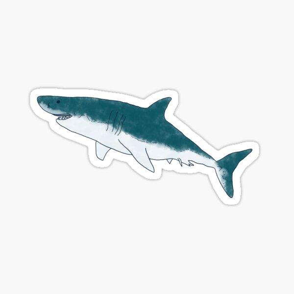 White Shark Sticker