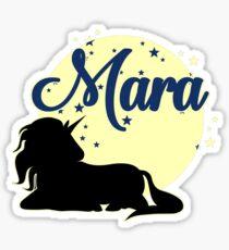 Mara name first name name day Sticker