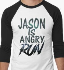 Jason is Angry Men's Baseball ¾ T-Shirt