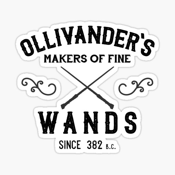 Ollivander's Wands Sticker