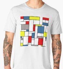 Mondrian pattern Men's Premium T-Shirt