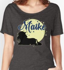 Maike name first name girl Women's Relaxed Fit T-Shirt