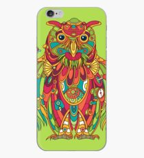 Owl, cool art from the AlphaPod Collection iPhone Case