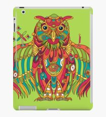 Owl, cool art from the AlphaPod Collection iPad Case/Skin