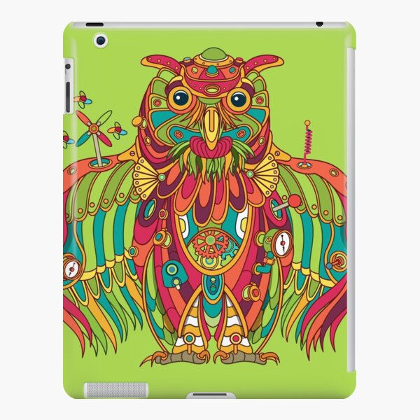 Owl, cool art from the AlphaPod Collection iPad Snap Case