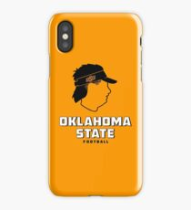 mike gundy mullet salary oklahoma State Cowboys football iPhone Case/Skin