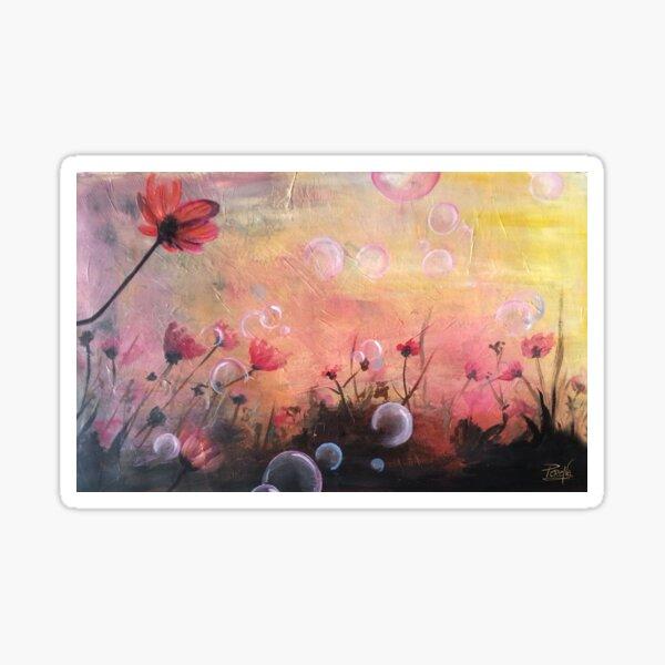 Fleurs des champs Sticker