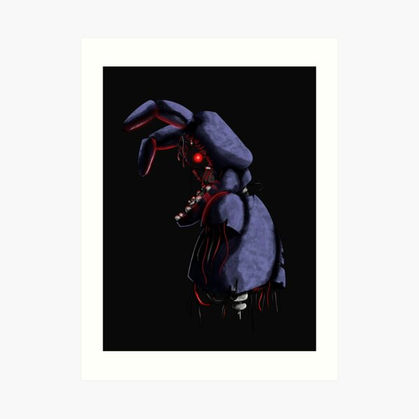 Withered Bonnie Art Print