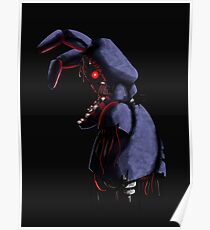 Withered Bonnie Poster