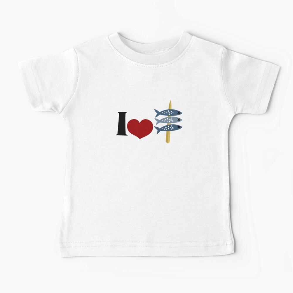 I Love Espetos Baby T-Shirt