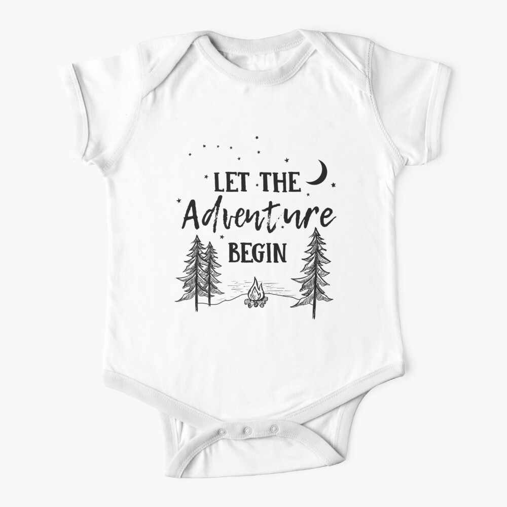 Let the Adventure Begin Baby One-Piece