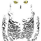 Snowy Owl (Camouflage) by BennuBirdy