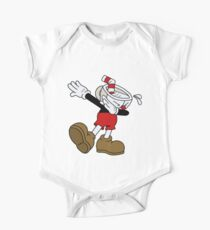 Color Cuphead Dab One Piece - Short Sleeve