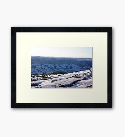 Views of the North Yorks Moors National Park #4 Framed Print