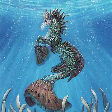 Hippocampus by SMorrisonArt