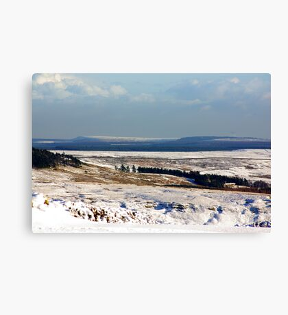 Views of the North Yorks Moors National Park #5 Canvas Print