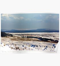 Views of the North Yorks Moors National Park #5 Poster