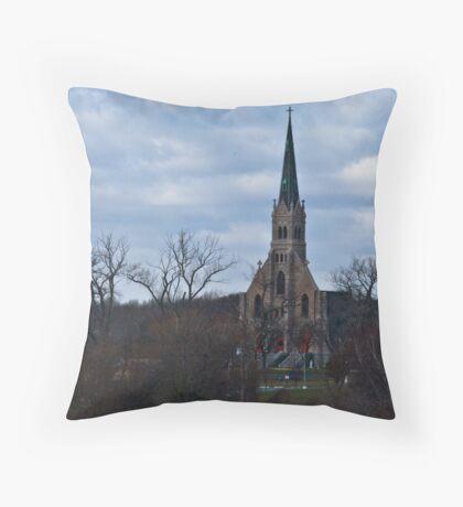 Mt. Loretto Throw Pillow