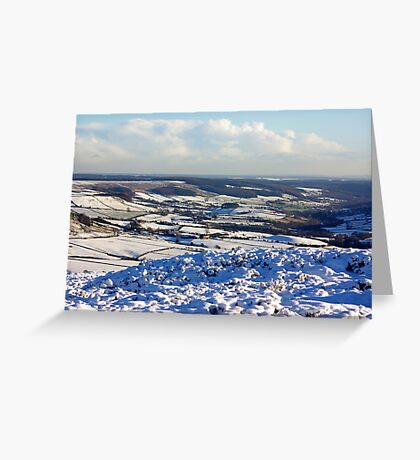Views of the North Yorks Moors National Park #6 Greeting Card