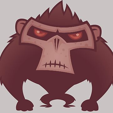 Angry Ape by fizzgig