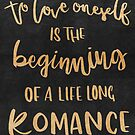 To Love Oneself is the Beginning of a Lifelong Romance by QueerHistory