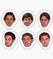 Jim Halpert Sticker Set Sticker