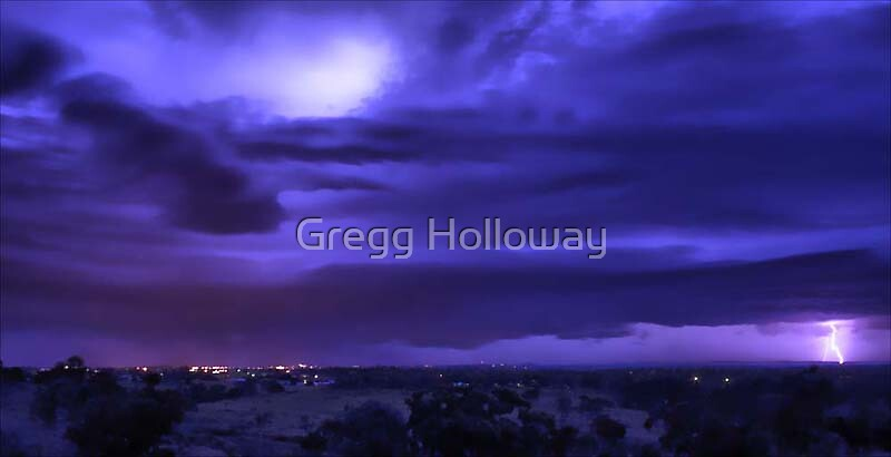 December Storm by Gregg Holloway