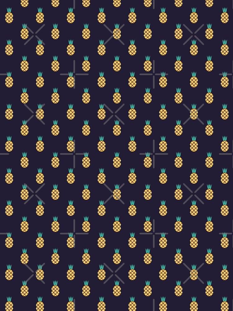 Disco Pineapple Print by SuzieLondon