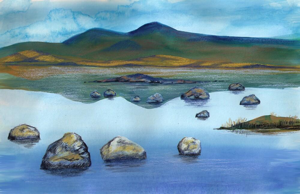 Loch Reflection by AandPFNHOLT