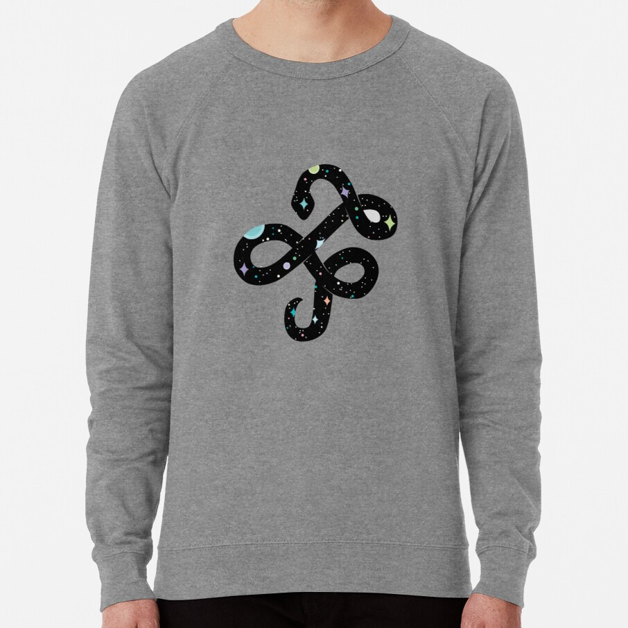Snake of Chaos Lightweight Sweatshirt