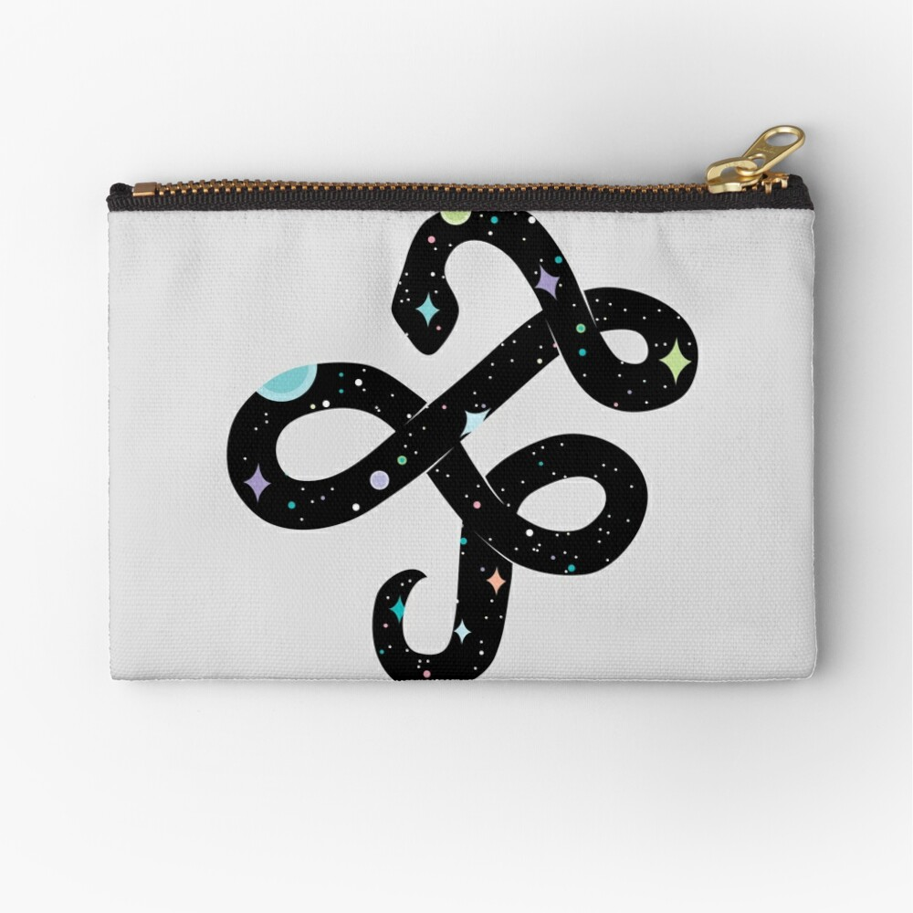 Snake of Chaos Zipper Pouch