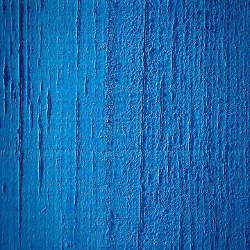 Blue paint on wood background by homydesign