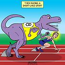 T-Rex Track Racing by Rich Diesslin