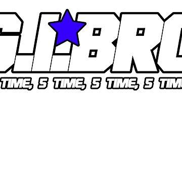 G.I BRO T-SHIRT by reallyreal