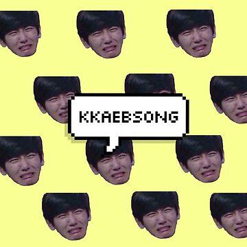 """Byun Baekhyun """"kkaebsong"""" by mapao"""