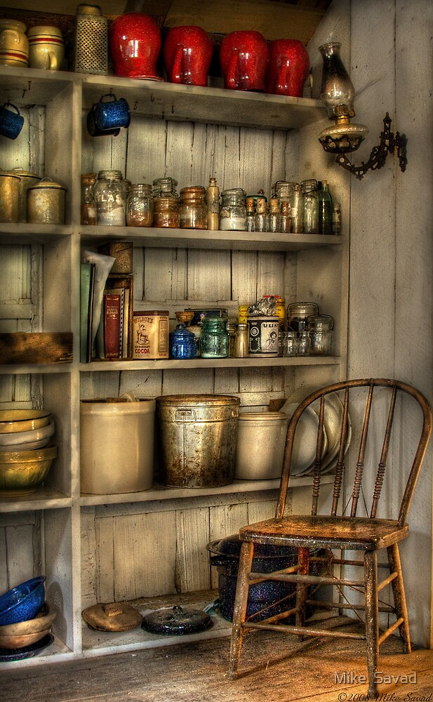 The chair in the corner of the kitchen by Michael Savad