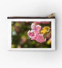 pink flowers of sakura branches Studio Pouch