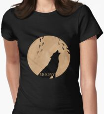 Moony Women's Fitted T-Shirt