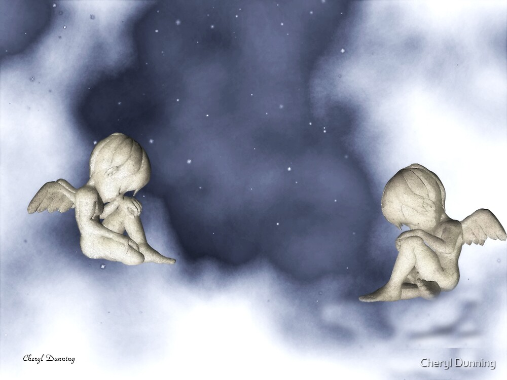asleep in the clouds by Cheryl Dunning
