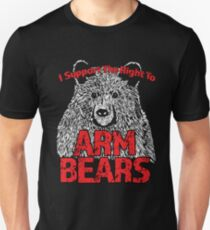 Support the Right to Bear Arms Design T-shirt unisexe