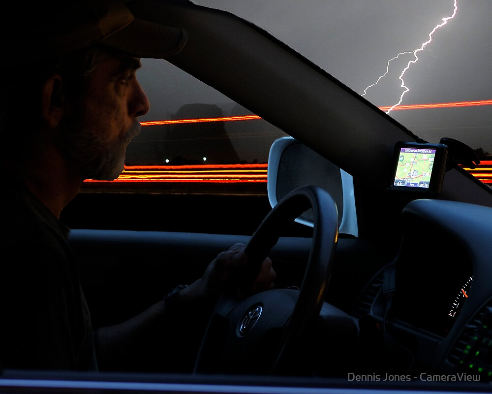 Self Portrait of a Road Warrior  by Dennis Jones - CameraView