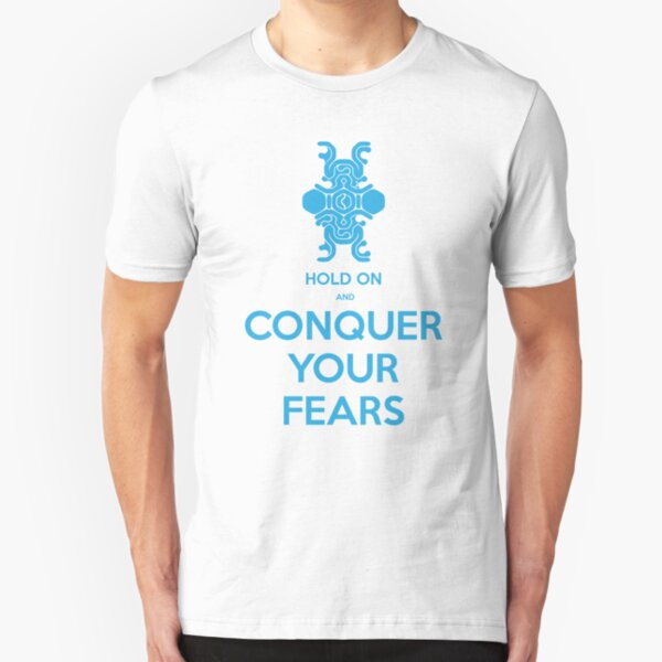 Conquer Your Fears - Shadow of the Colossus Slim Fit T-Shirt