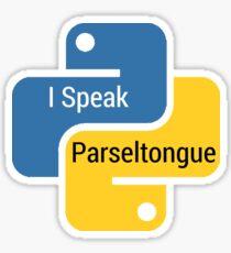 I speak Parseltongue Sticker