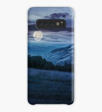 meadow in high mountains at night Case/Skin for Samsung Galaxy